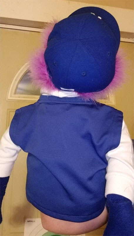"Professional Muppet Style ""KC Royals Fan"" Ventriloquist Puppet *Custom Made"