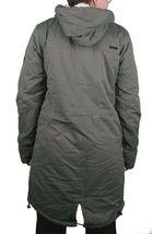 Bench Women's Long Green Hawkish Jacket Winter Coat w Soft Lining BLKA1773 NWT image 5