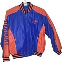 Starbury Faux Leather Jacket Florida Gators Large NCAA - $69.99