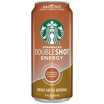 Starbucks Double Shot Energy Drink, Hazelnut - $9.53