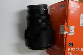 Used Sony G-Series E PZ 18–105 mm F4 G OSS Lens for Sony (SELP18105G) image 1