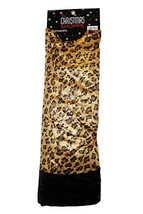 48 Inch The Christmas Shoppe Velour Leopard Print Tree Skirt - $69.00