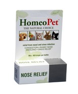 HomeoPet Nose Relief for Dog Cat Bird Pet Upper respiratory infections c... - $17.57