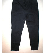 New J Brand Jeans Very Dark Blue Crop Skinny 32 Mid Rise Womens 850 Clea... - $124.00