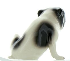 Hagen Renaker Pedigree Dog Bulldog Black and White Ceramic Figurine image 7
