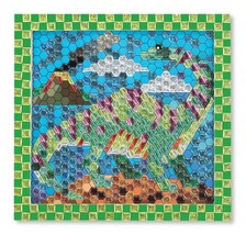 Melissa & Doug Peel & Press Sticker By Number - Dinosaur - $24.38