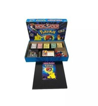 Pokemon Monopoly Collectors Edition 1999 Parker Brothers #41357 - $24.01