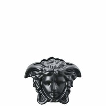 "Versace by Rosenthal Medusa Grande Black Vase 15 cm /5.9"" inches - $289.50"