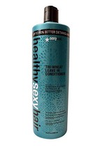 Sexy Hair Healthy Sexy Hair Tri-Wheat Leave in Conditioner, 33.8 Fluid O... - $34.64