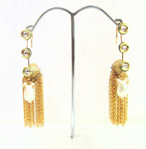 American Hoop Style Copper Gold Plated Earrings Indian Chick Fashion Sty... - $16.95