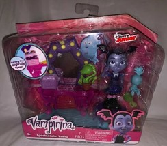 *Disney Junior Vampirina* Spooktacular Vanity Playset Figure Jewelry Box Stool - $14.84
