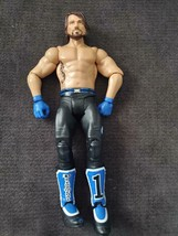 AJ Styles ~ Basic Series #68 B ~ Mattel Action Figure ~ WWE/WWF Wrestlin... - $9.79