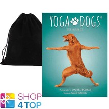 YOGA DOGS CHALLENGES CARDS DECK & BOOK SET FUNNY US GAMES SYSTEMS VELVET... - $26.52