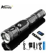Albinaly® Rechargeable LED Flashlight CREE XML-T6 5000 Lumens Torch USB - $25.25+