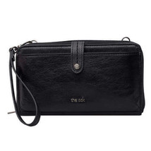 The Sak 3-In-1 Leather Phone Wallet & Clutch, Black - $19.89 CAD