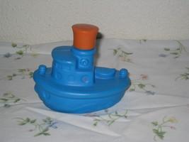 Vintage Avon Liquid Cleanser Tub Tug Blue Plastic Bottle - $10.75