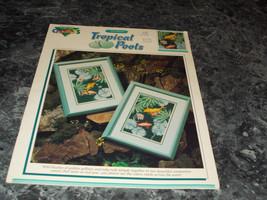 Paul Brent Tropical Pool cross stitch - $2.96