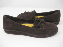 Grasshoppers Brown Womens 6M Slip On Sneakers Shoes New Unworn - $19.99