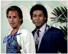 MIAMI VICE Cast  - Johnson & Thomas Autographed Signed  Photo w/COA - 27078 - $165.00