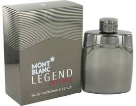 Mont Blanc Montblanc Legend Intense Cologne 3.3 Oz Eau De Toilette Spray image 3