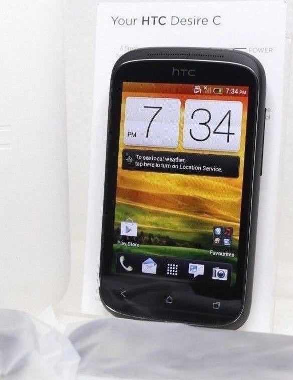 HTC Desire C   3G (GSM UNLOCKED) 3.5'' LCD 5.0MP   Black Smartphone A320a