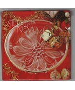 "Studio Nova - Candy Tray - 5"" Wide - WY327 / 807 Guilded Poinsettia - Ro... - $4.89"