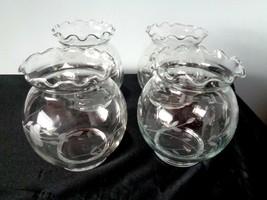 Set of 4 Vintage Princess House Heritage Vases - $14.99