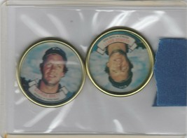 1987 Topps Coins George Brett Royals Lot of 2 - $1.28
