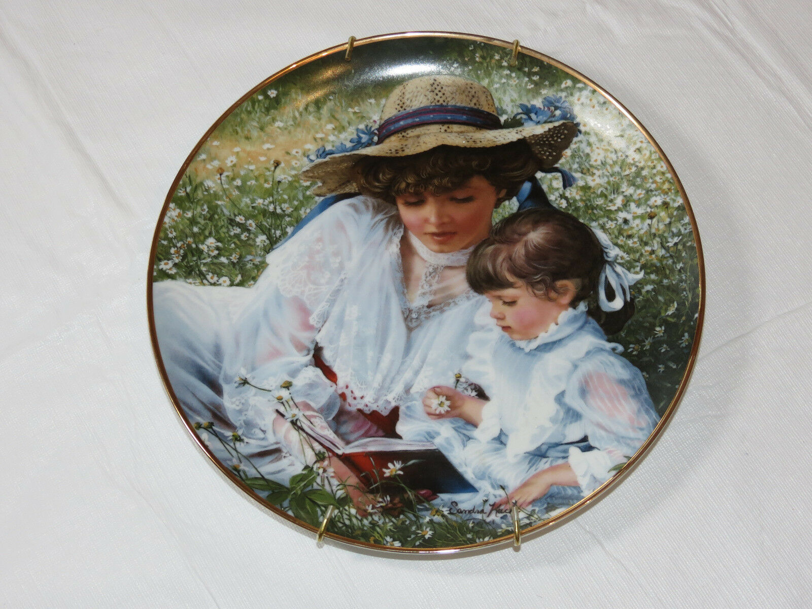 Primary image for Reco Collection Times Remembered Honoring Mothers Day 1986 Collector Plate