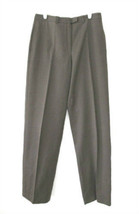 Giorgio Armani Classico Taupe Cotton Straight Leg Pants  size 30 x 32 1/2 - $38.00