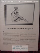 RARE Esquire Advertisement AD for George Petty Girl pinup from Esquire 1941 WWII - $9.00