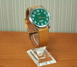 TIMEX Quartz Leather Wrist watch CR2016 CELL From Japan - $156.80
