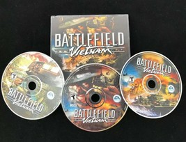Battlefield Vietnam - PC 3 CD Computer Video Game w/ Key Code from EA Games - $19.75