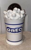 "Vintage Oreo Milk ""Splash"" Cookie Jar 10.5"" - Excellent Condition Free Ship - $44.06"