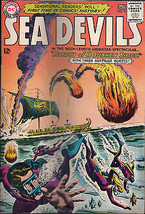 Sea Devils #13 (Sep-Oct 1963, DC) Comic Book - $8.99