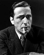 Humphrey Bogart Iconic Portrait Photo Smoking Cigarette 16x20 Canvas Giclee - $69.99