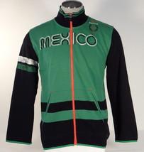 Puma Green Mexico Football Federation Zip Front Kicker Track Jacket Men'... - $74.99