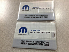 2013 Jeep Wrangler Service & Wiring Info USB Combo Service Shop Repair M... - $296.99