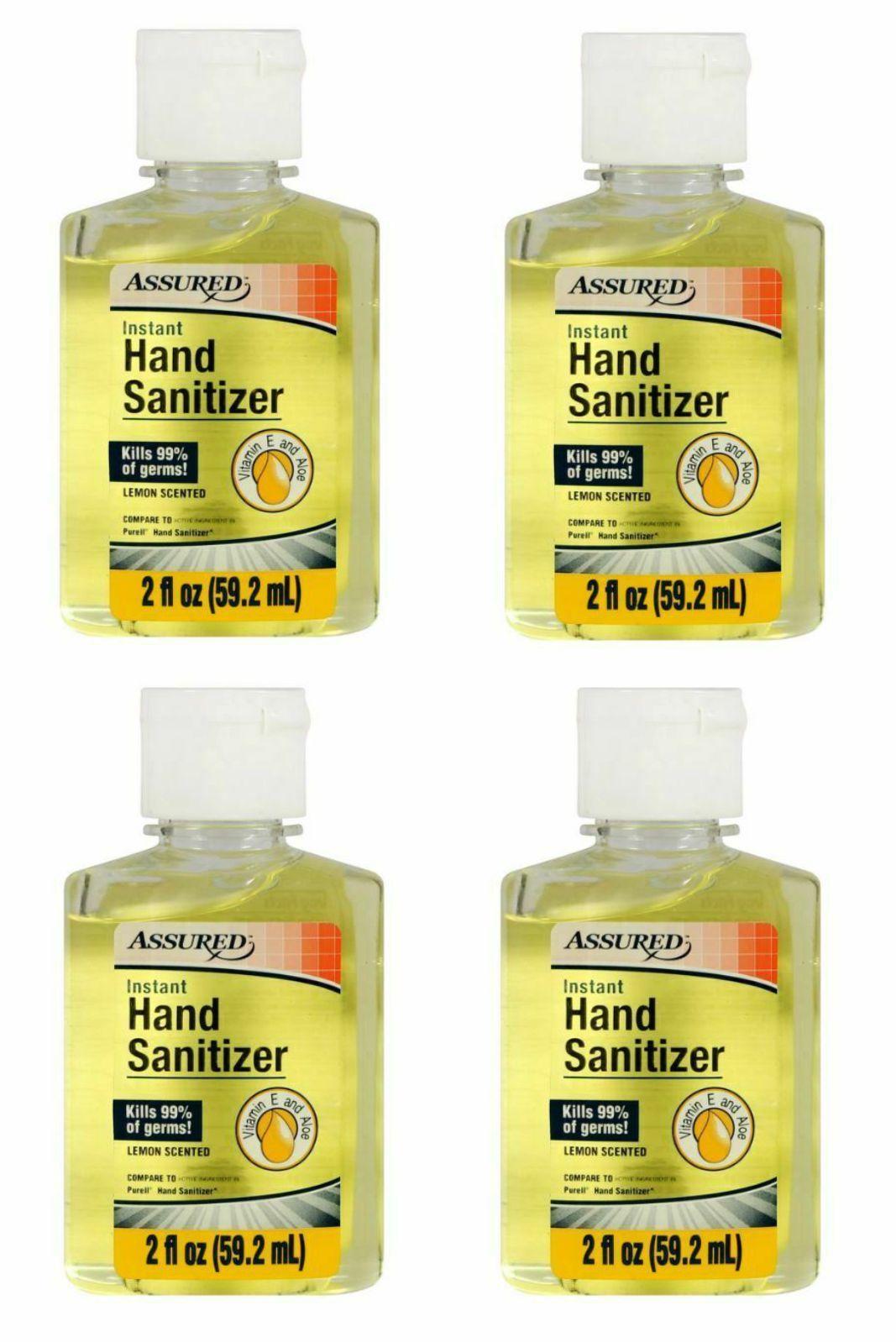 Assured Hand Sanitizer Lemon With Vitamin E And 50 Similar Items