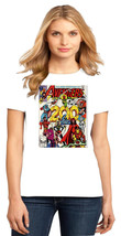 Hawkeye Captain Marvel Wasp Iron Man Thor Vision Ladies Crew T-Shirt Size XS-4XL - $19.99+