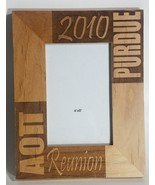 2010 Alpha Omicron Pi Purdue Reunion Sorority Sisters Picture Frame Wood... - $14.69
