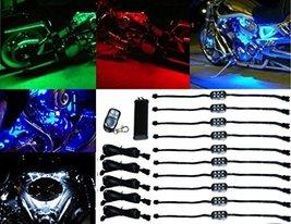 OCTANE LIGHTING 10Pc Rgb/Red/Green/Blue/Yellow Glow Lights Led Pods Kit ... - $59.35
