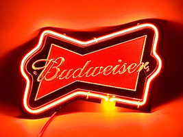 SD082 Budweiser Beer Bar Pub Display Neon night Light 3D Acrylic Sign 11... - $95.00