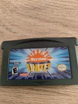 Nintendo Game Boy Advance GBA Nicktoons UNITE! image 2