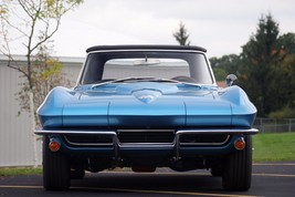 1965 CORVETTE CONVERTIBLE 396 front 24X36 inch poster, sports car, muscl... - $18.99