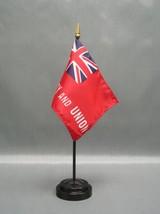 "Taunton 4X6"" Table Top Flag W/ Base New Desk Top Handheld Stick Flag - $4.95"