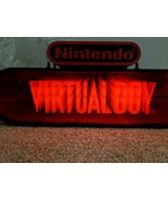 Virtual Boy Lighted 3D Store Display Sign Promo Promotional Nintendo 90s... - $3,959.99