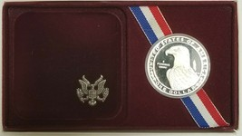 1984-S Olympic Proof Silver Dollar - $19.59
