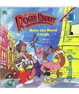 ORIGINAL Vintage 1988 Who Framed Roger Rabbit Make the World Laugh Golde... - $13.99
