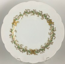 Haviland Limoges Luncheon plate Gold / Green - $18.00
